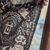 お米を楽しむバンダナ『komedana』