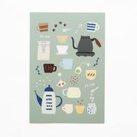 ポストカード『tea time』