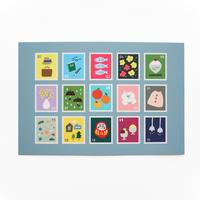 ポストカード『stamp』