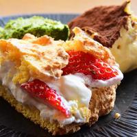 【動画講座】低糖質ビスキュイのティラミス&ショートケーキ
