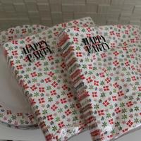 HAPPY PARTY 紙ナプキン/皿 [ デンマーク]