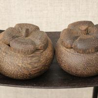 木のポット〔カンボジア〕