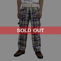 【USED】90'S VIVIENNE WESTWOOD HYPNOS CHECK BONDAGE TROUSERS