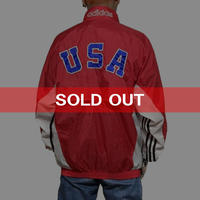 【USED】90'S ADIDAS NYLON JACKET OLYMPIC MODEL