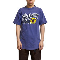 【USED】90'S STUSSY SCHOOL STYLE LOGO T-SHIRT
