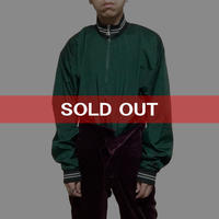 【USED】90'S CHAMPION NYLON PULLOVER JACKET GREEN