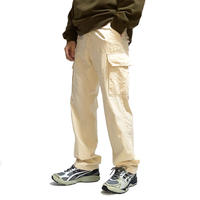 【USED】HELMUT LANG 1999 CARGO TROUSERS LIGHT BEIGE