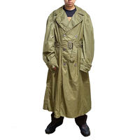 【USED】 50'S US ARMY RAIN TRENCH COAT