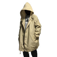 【USED】EDDIE BAUER OVERSIZED RIP-STOP HOODED JACKET