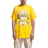 【USED】90'S COSPA NEON GENESIS EVANGELION DEATH AND REBIRTH T-SHIRT