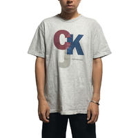 【USED】90'S  CALVIN KLEIN T-SHIRT MADE IN USA