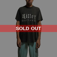 【USED】90'S KILLER GUITARS T-SHIRT