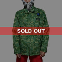【USED】90'S APE 2-WAY CAMO RAIN JACKET