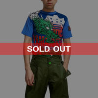 【USED】90'S  KANSAI MAN DRAGON T-SHIRT