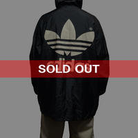 【USED】90'S ADIDAS HOODED COACH JACKET