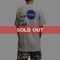 【USED】90'S  NASA T-SHIRT