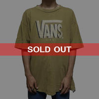 【USED】90'S VANS USA T-SHIRT