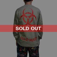 【USED】90'S HAZ-MAT L/S T-SHIRT