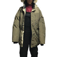 【USED】00'S COLUMBIA OVERSIZED DOWN JACKET WITH FUR HOOD