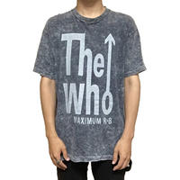【USED】90'S THE WHO CHEMICAL WASH T-SHIRT