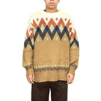 【USED】UNKNOWN VINTAGE MODERN NORDIC KNIT SWEATER