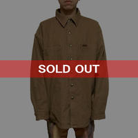 【USED】CARHARTT OVER SIZED COTTON DUCK SHIRT