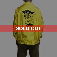 【USED】90'S  BAD BOY CLUB COACH JACKET YELLOW