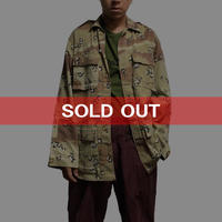 【USED】CHOCO CHIP CAMO JACKET