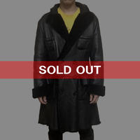【USED】90'S VIVIENNE WESTWOOD GOLD LABEL MEN'S MOUTON COAT BLACK