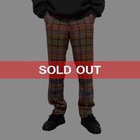 【USED】90'S VIVIENNE WESTWOOD MAN MALTI COLOR CHECK TROUSERS