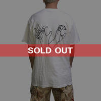 """【USED】90'S WEST COAST CHOPPERS T-SHIRT """"HAND"""""""
