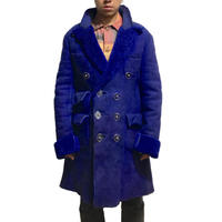 【USED】90'S VIVIENNE WESTWOOD GOLD LABEL MEN'S MOUTON COAT PURPLE