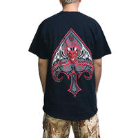 "【USED】00'S WEST COAST CHOPPERS T-SHIRT ""DEVIL"""