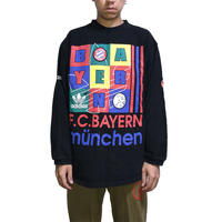 【USED】90'S ADIDAS F.C.BAYERN MÜNCHEN SWEATSHIRT