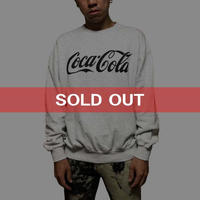 【USED】90'S COCA-COLA SWEATSHIRT GLEY
