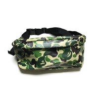 【USED】A BATHING APE CAMO BAM BAG
