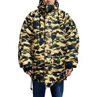 【USED】A BATHING APE 1ST CAMO DOWN JACKET