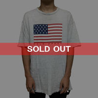 【USED】90'S POLO SPORT STARS AND STRIPES T-SHIRT