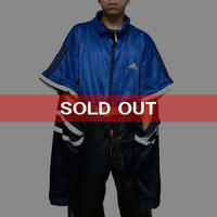 【USED】90'S ADIDAS OVERSIZED 2-WAY TRACK JACKET