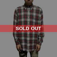 【USED】RALPH LAUREN RAYON CHECK SHIRT