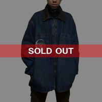 【USED】90'S SERGIO TACCHINI OVERSIZED DENIM JACKET