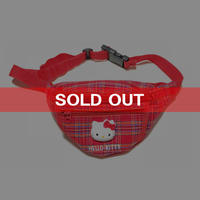 【USED】90'S HELLO KITTY BUM BAG