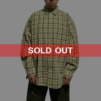 【USED】00'S  VISION CHECK SHIRT
