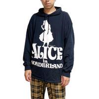 【USED】90'S ALICE IN WONDERLAND HOODIE