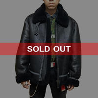 【USED】MOUTON B-3 AVIATOR JACKET BLACK