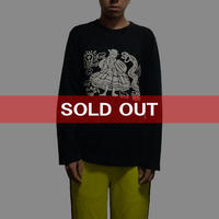 【USED】90'S-00'S WORLDS END CLASSICS KEITH HARING  L/S T-SHIRT