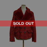 【USED】90'S VIVIENNE WESTWOOD MOUTON CHICO JACKET FOR LADY'S