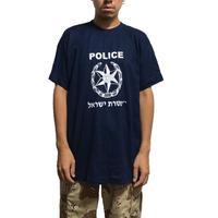 【USED】ISRAELI POLICE T-SHIRT