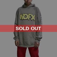 【USED】90'S  NOFX MONS-TOUR HOODIE