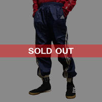 【USED】90'S ADIDAS 3-STRIPES NYLON TRACK PANTS
